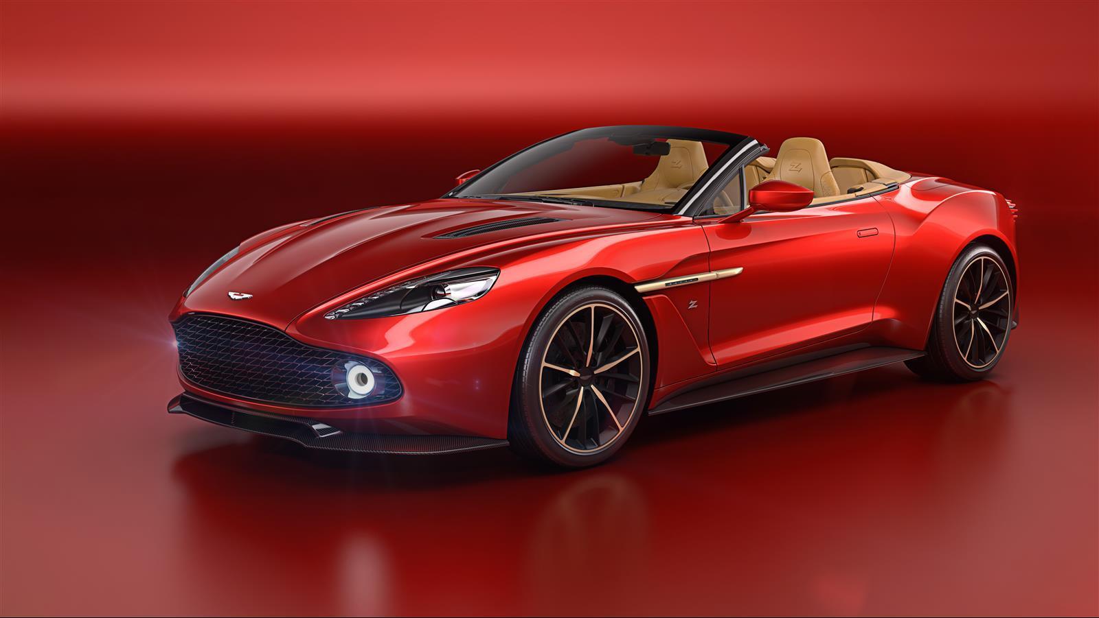Aston Martin Vanquish Zagato Volante photo gallery