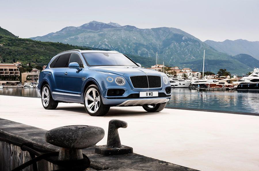 Bentley Bentayga diesel photo gallery