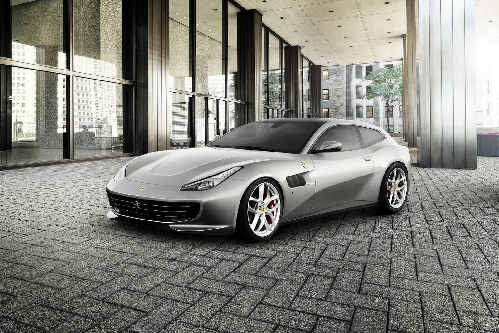 Ferrari GTC4 Lusso T photo gallery