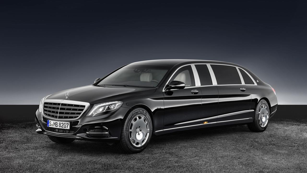 Mercedes-Maybach S600 Pullman Guard photo gallery