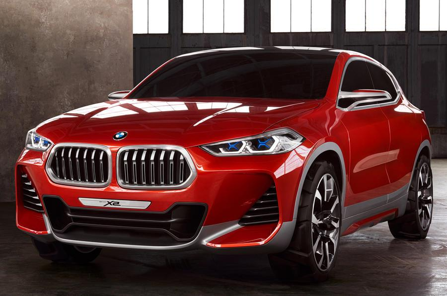 BMW X2 coupe-SUV concept photo gallery