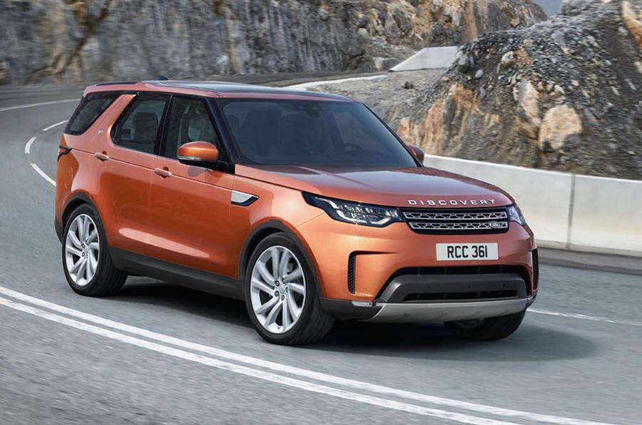 2017 Land Rover Discovery photo gallery