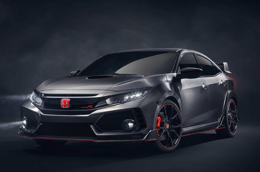 New Honda Civic Type R concept photo gallery