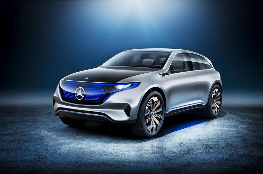 Mercedes Generation EQ concept photo gallery