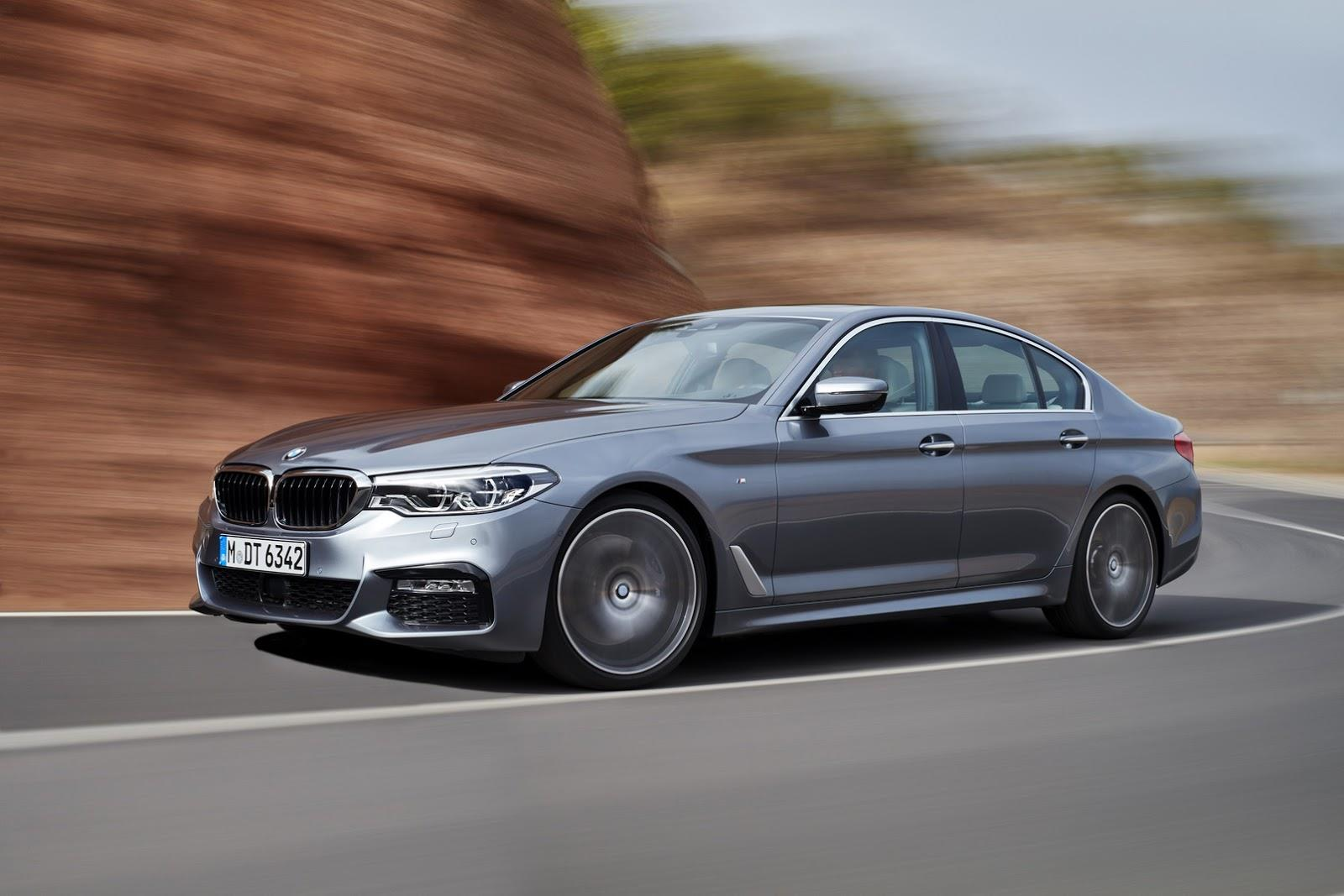 2017 BMW 5-series image gallery