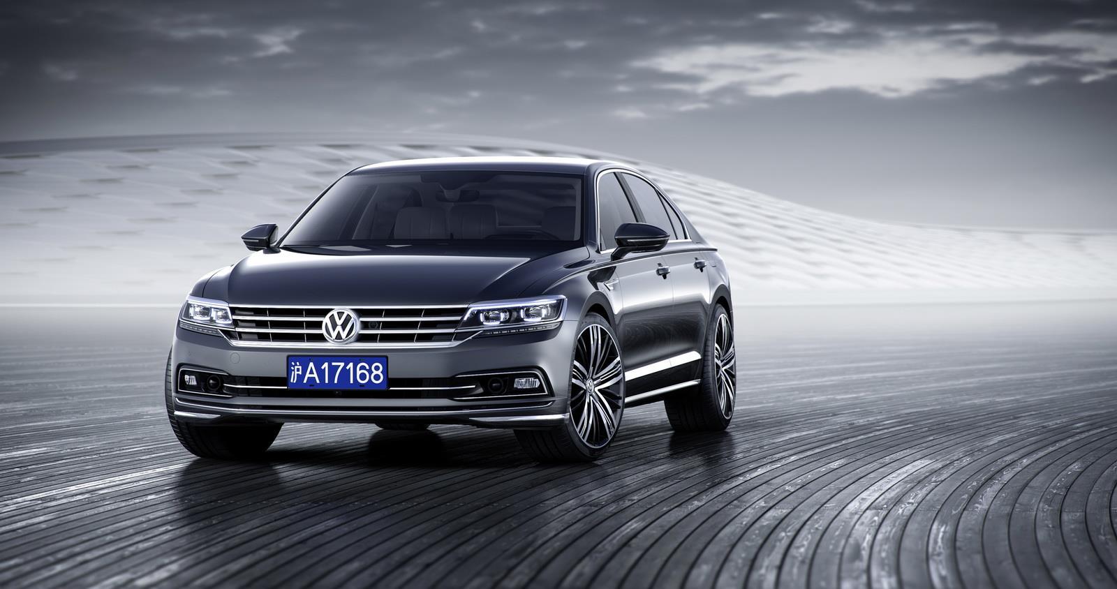 Volkswagen Phideon image gallery