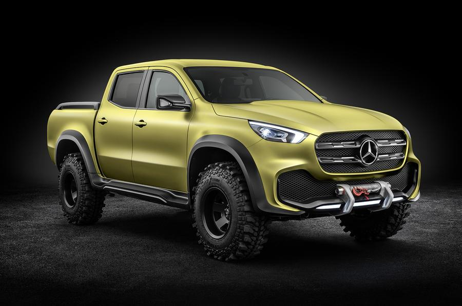 Mercedes X-Class pickup image gallery