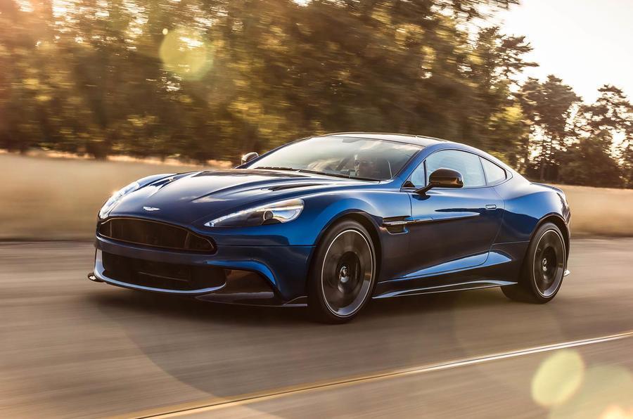 2017 Aston Martin Vanquish S image gallery