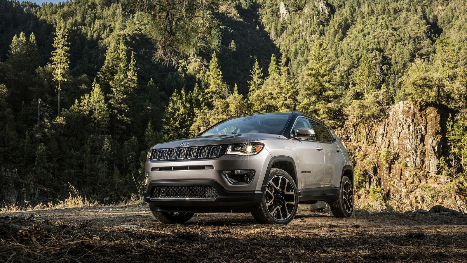 India-bound 2017 Jeep Compass photo gallery