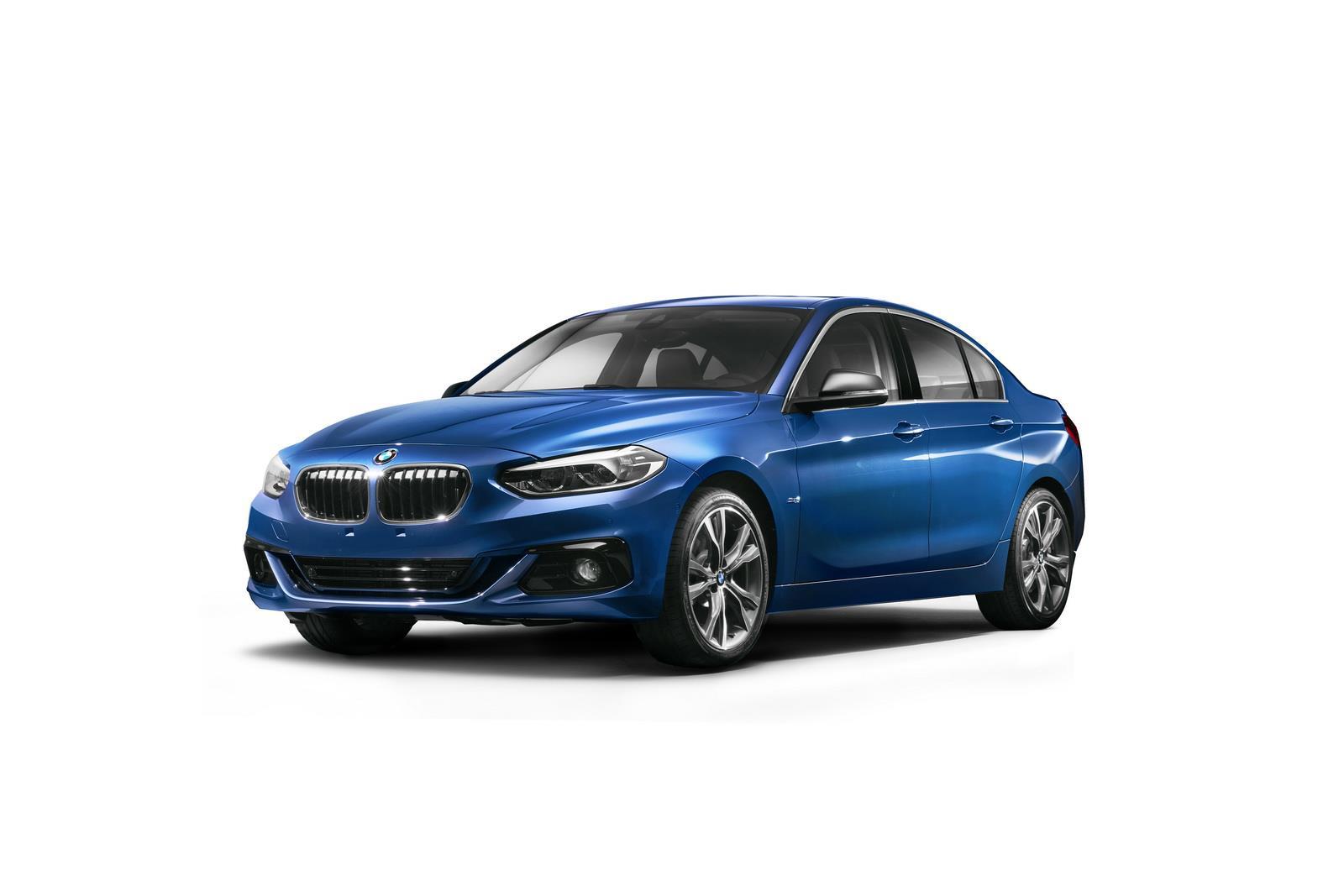 BMW 1-series sedan image gallery