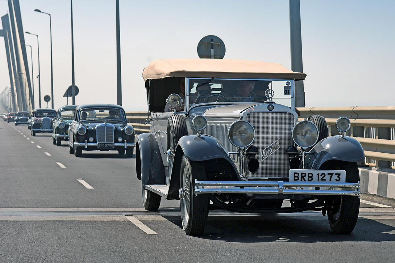Mercedes Classic Car Rally 2016 image gallery