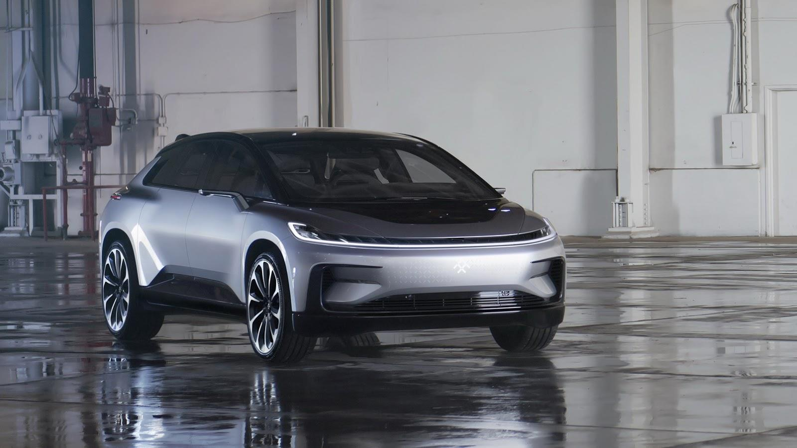 Faraday Future FF 91 image gallery