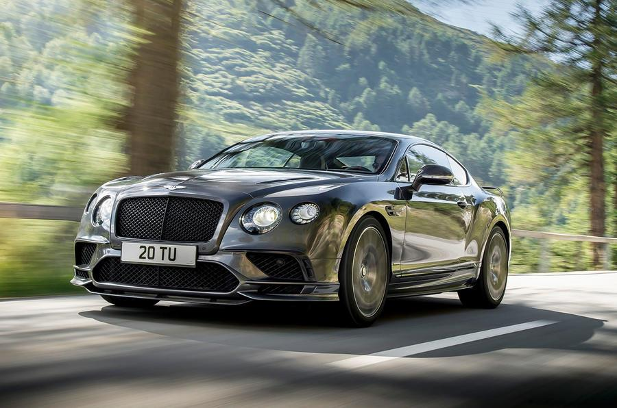2017 Bentley Continental Supersports image gallery