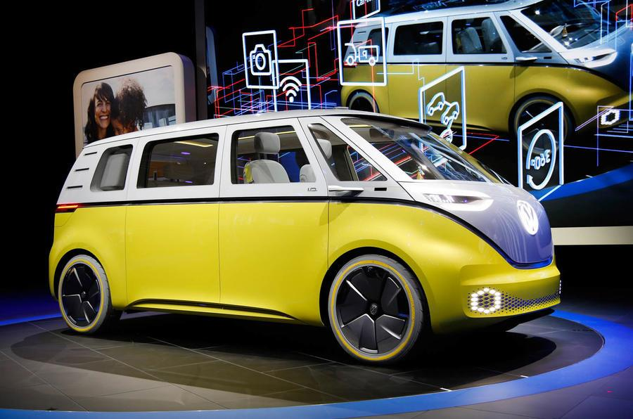 Volkswagen ID Buzz MPV concept image gallery