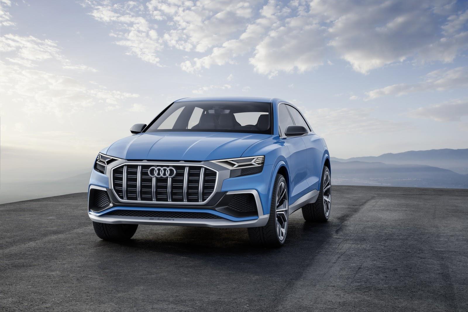 Audi Q8 concept image gallery