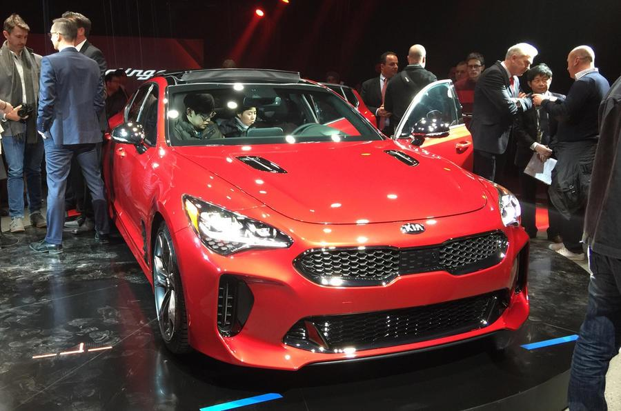 Kia Stinger GT concept image gallery