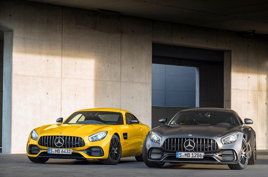 2017 Mercedes-AMG GT image gallery