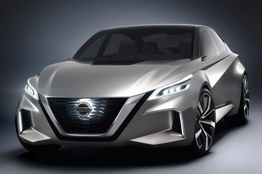 2017 Nissan Vmotion 2.0 concept image gallery