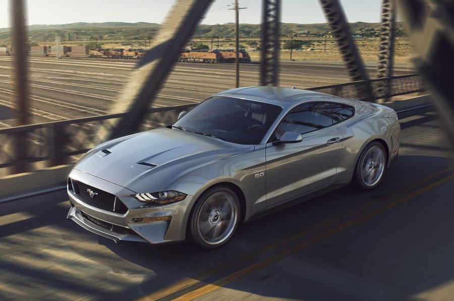 2018 Ford Mustang facelift photo gallery