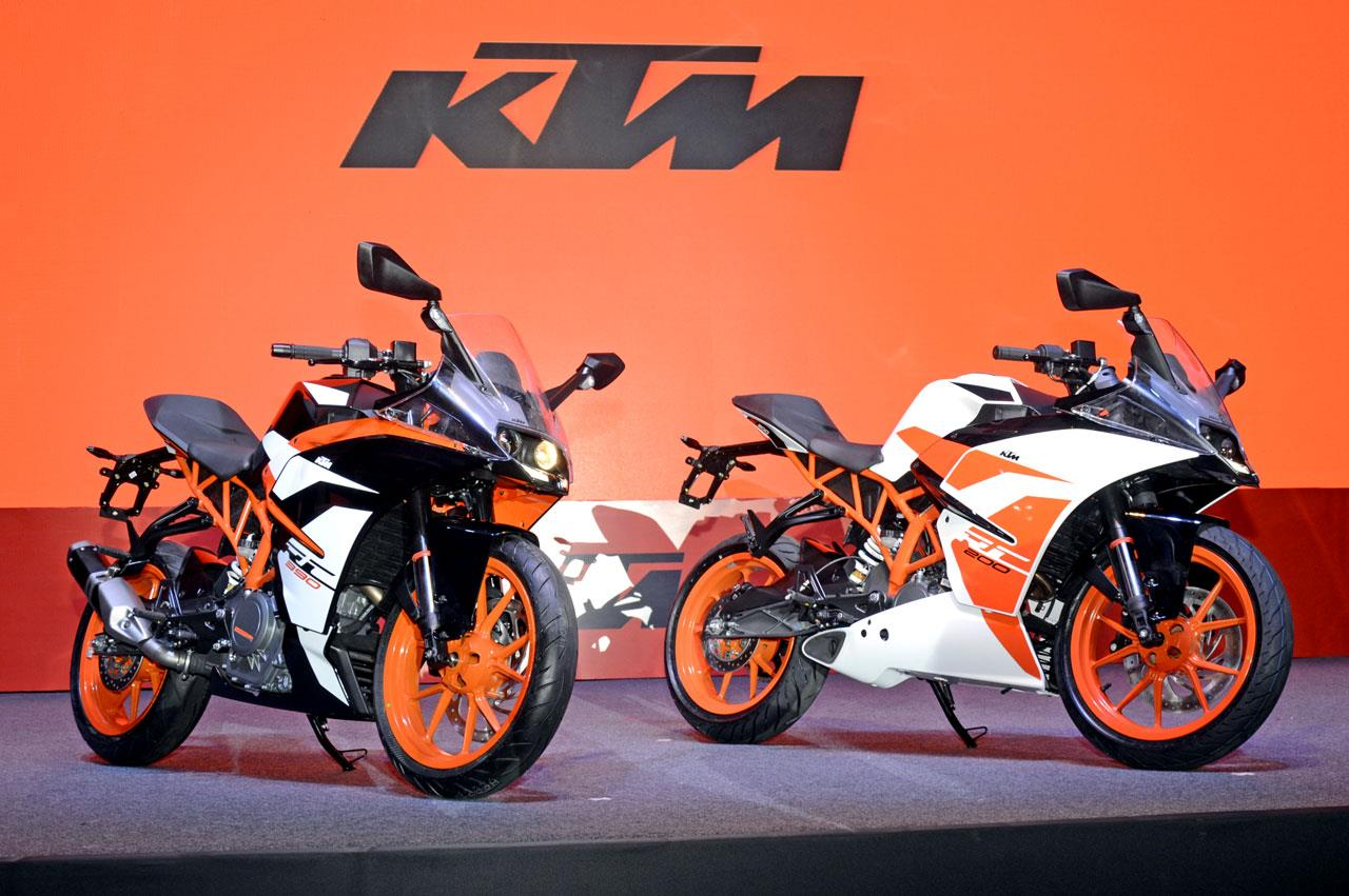 2017 KTM RC 390, RC 200 image gallery