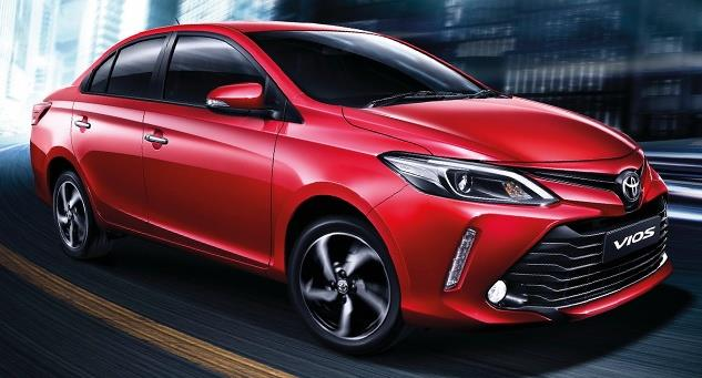 2017 Toyota Vios image gallery