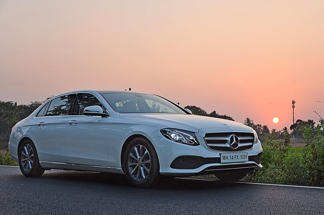 New 2017 Mercedes E-class long-wheelbase photo gallery