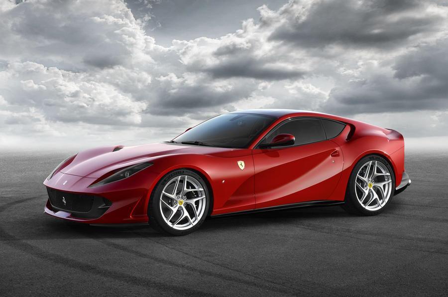 Ferrari 812 Superfast image gallery