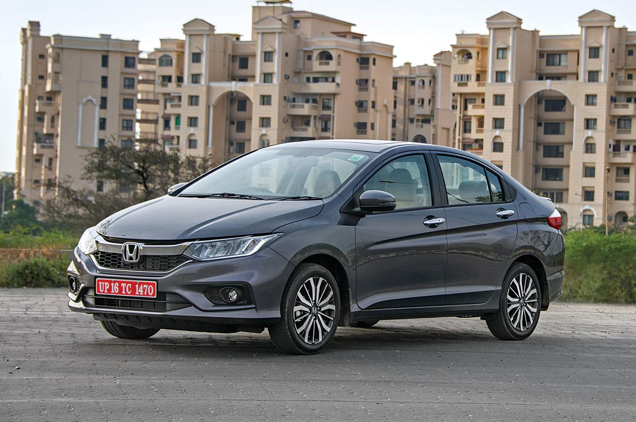 2017 Honda City facelift image gallery