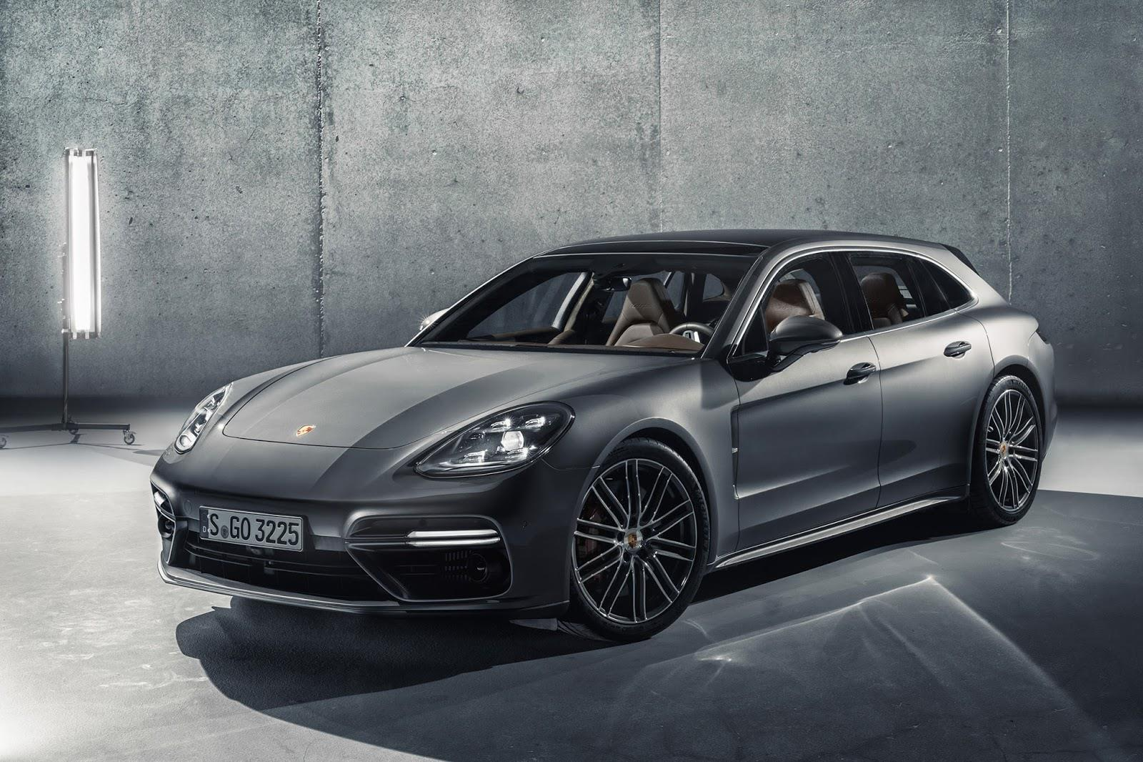 2017 Porsche Panamera Sport Turismo image gallery