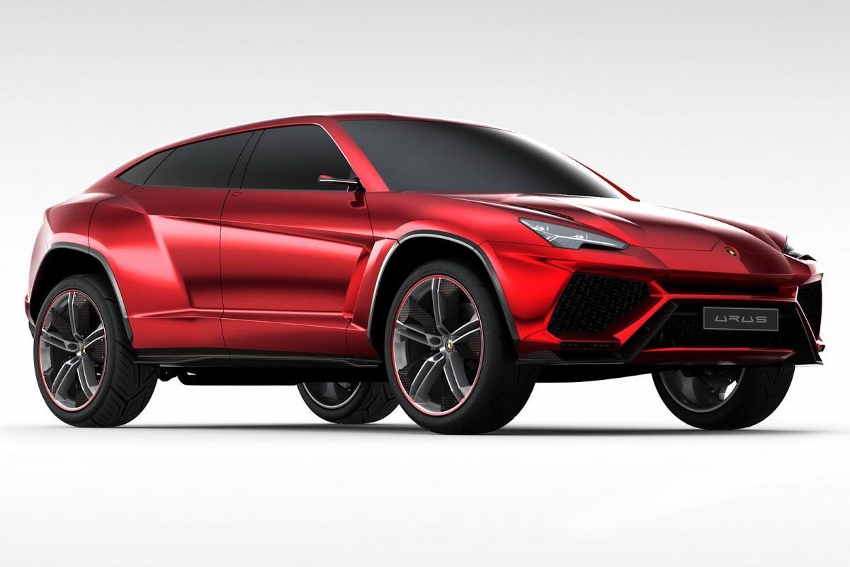 2017 Lamborghini Urus SUV image gallery