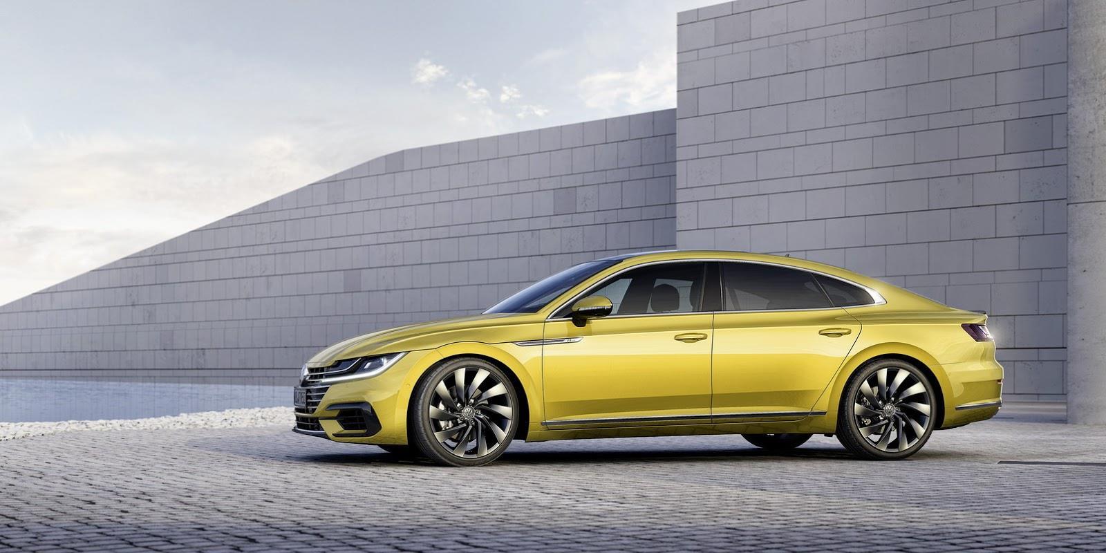 Volkswagen Arteon image gallery