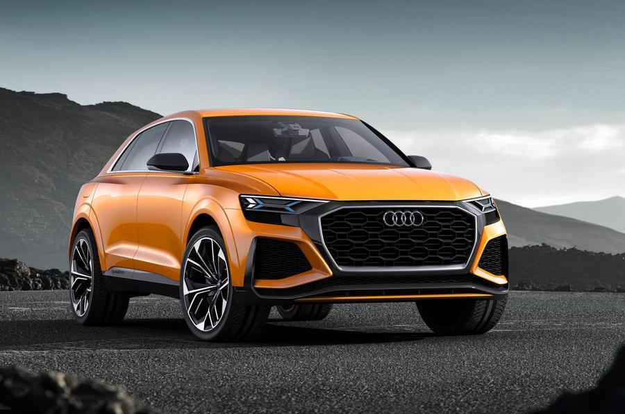 Audi Q8 sport concept image gallery
