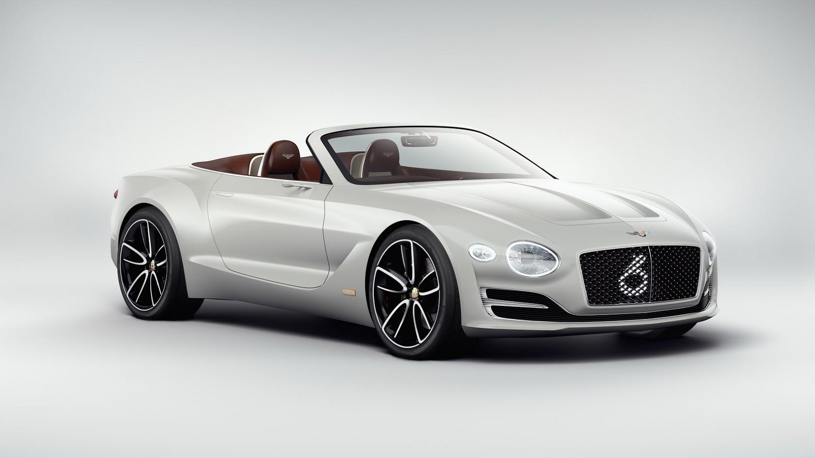Bentley EXP12 Speed 6e roadster image gallery