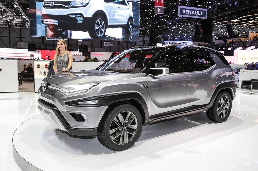 SsangYong XAVL concept image gallery