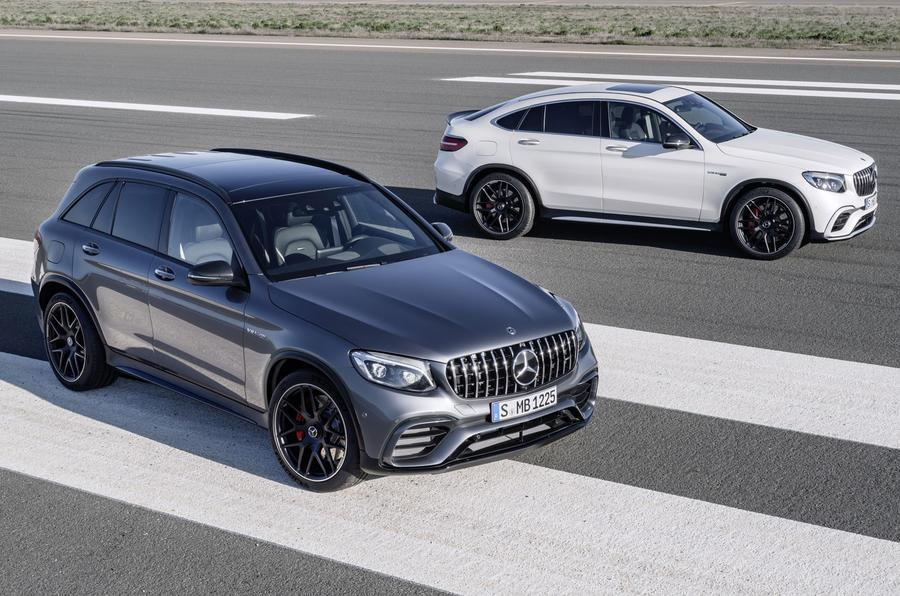 2017 Mercedes-AMG GLC 63 image gallery