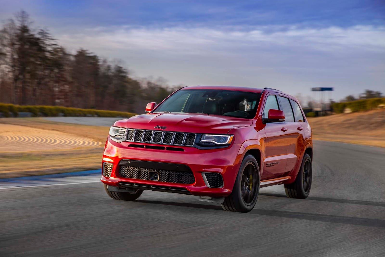 2018 Jeep Grand Cherokee Trackhawk image gallery