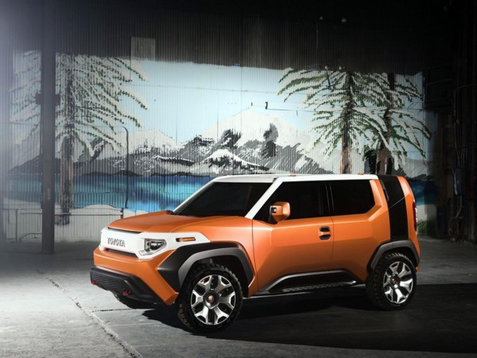 Toyota FT-4X concept image gallery