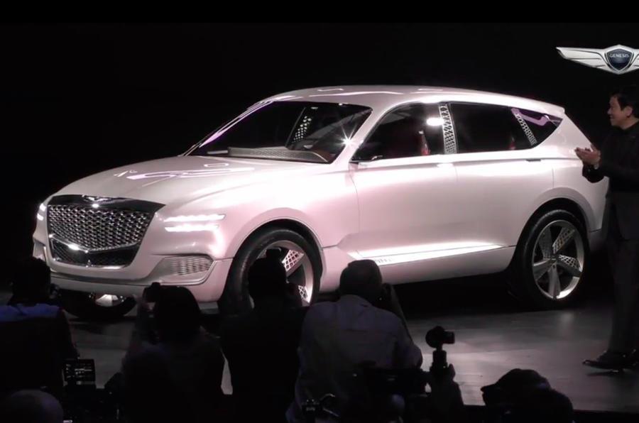 Genesis GV80 SUV concept image gallery