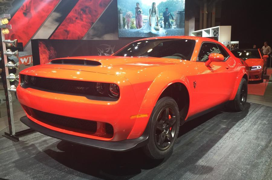 Dodge Challenger SRT Demon image gallery