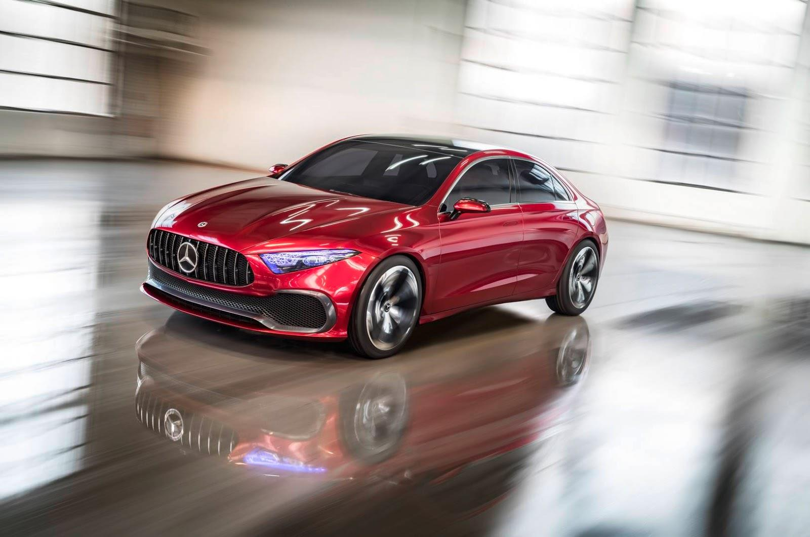 Mercedes Concept A Sedan image gallery