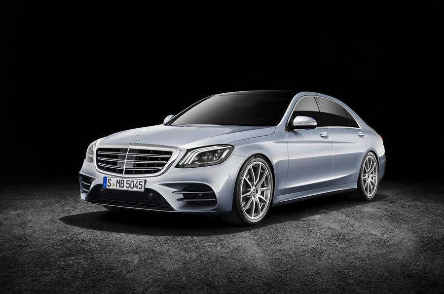 2018 Mercedes S-Class facelift image gallery