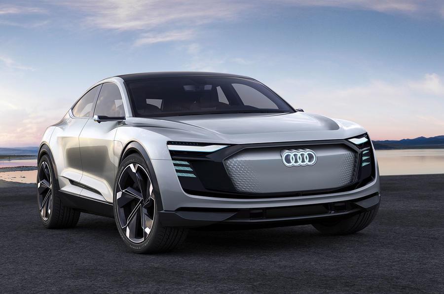 2017 Audi e-tron Sportback concept image gallery