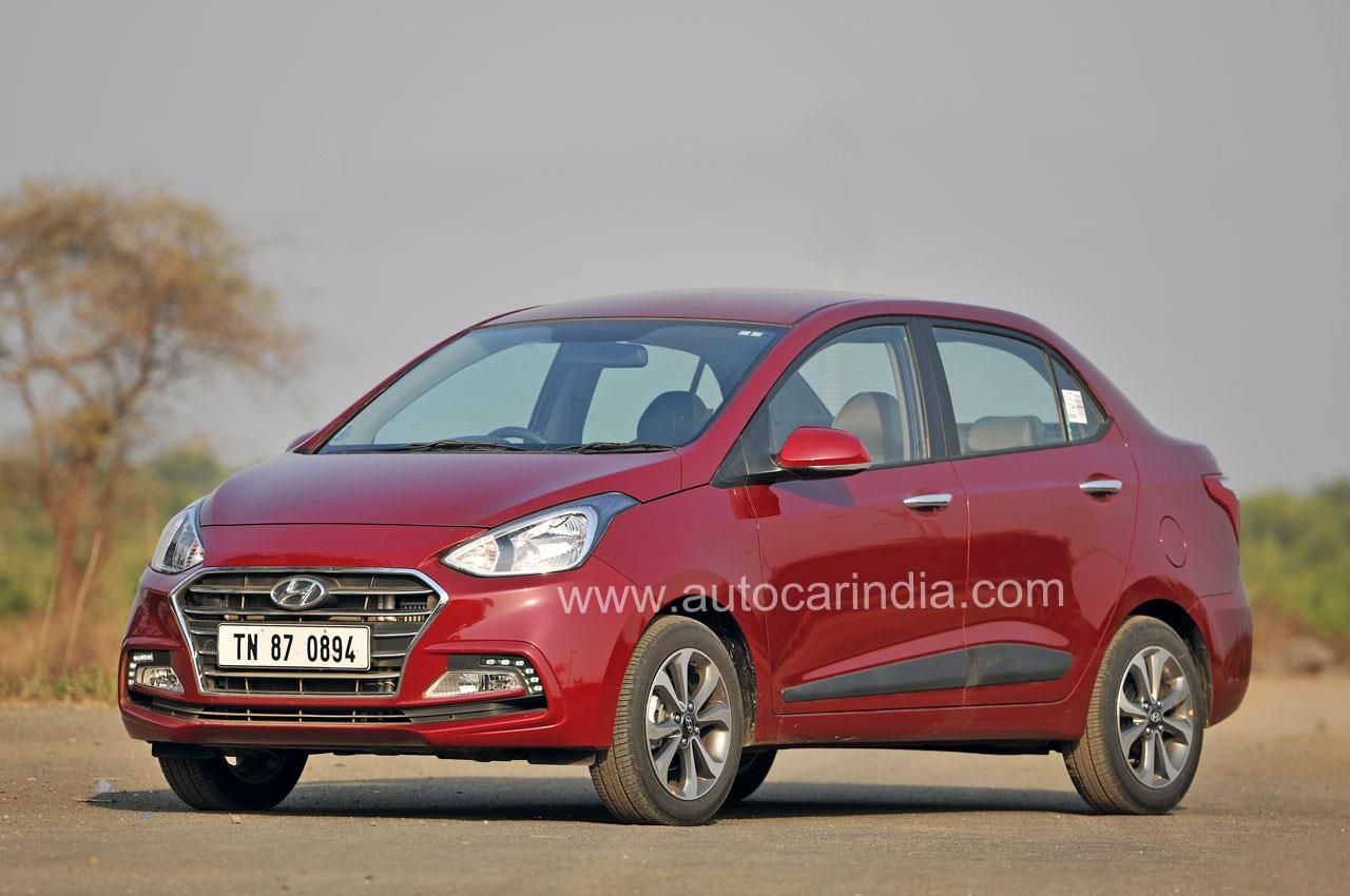 2017 Hyundai Xcent facelift image gallery