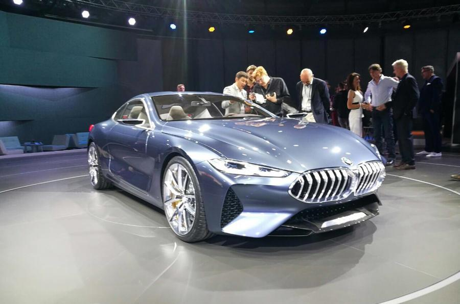 BMW 8-series concept image gallery