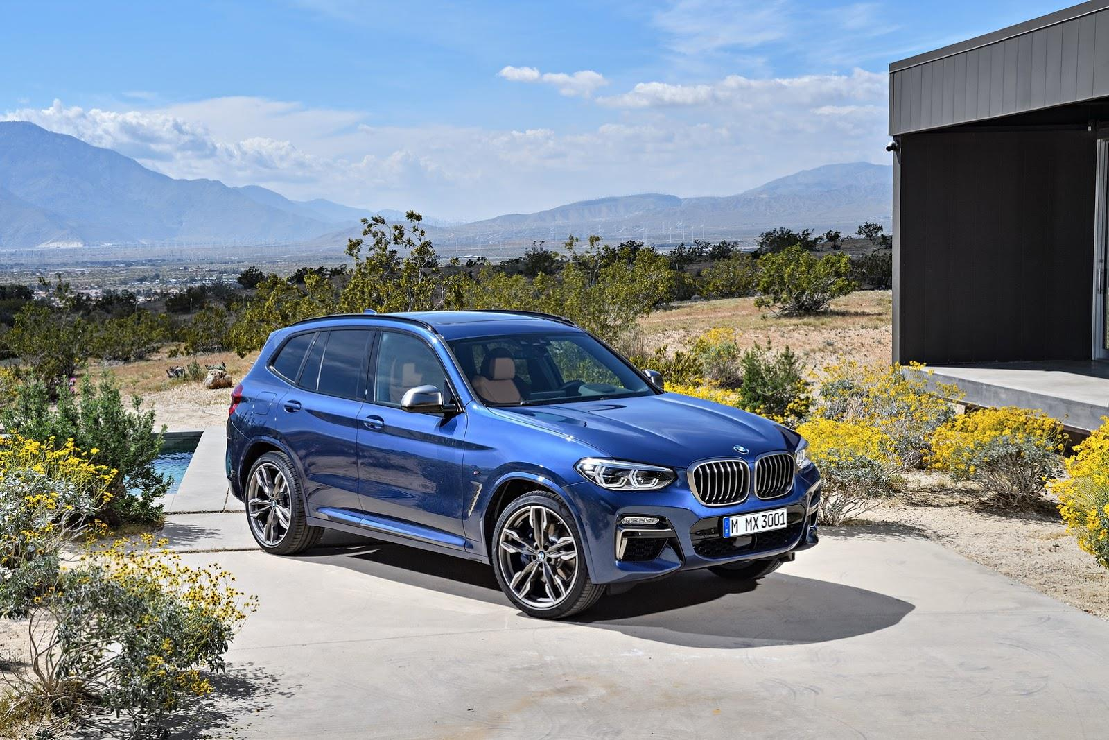 2018 BMW X3 image gallery