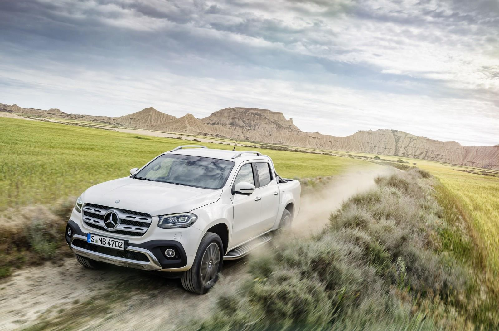 2018 Mercedes X-Class pickup image gallery
