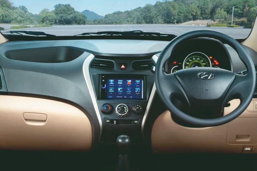 Hyundai Eon Era Plus Magna Plus Gets Touchscreen System