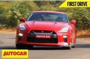 2016 Nissan GT-R India video review