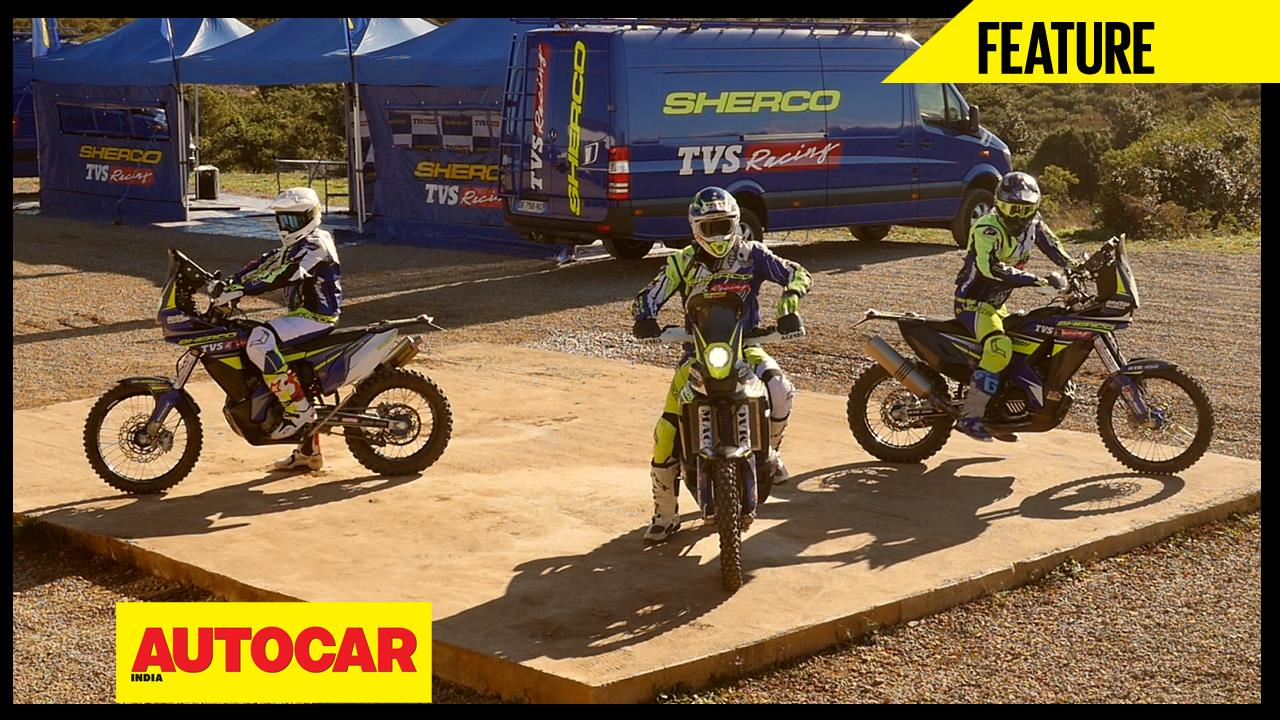 Sherco TVS Racing: Living The Dakar Dream video feature