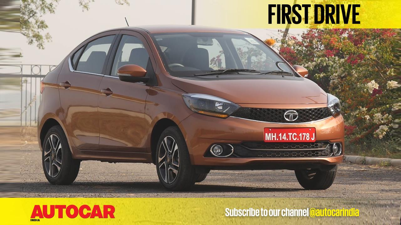 2017 Tata Tigor video review